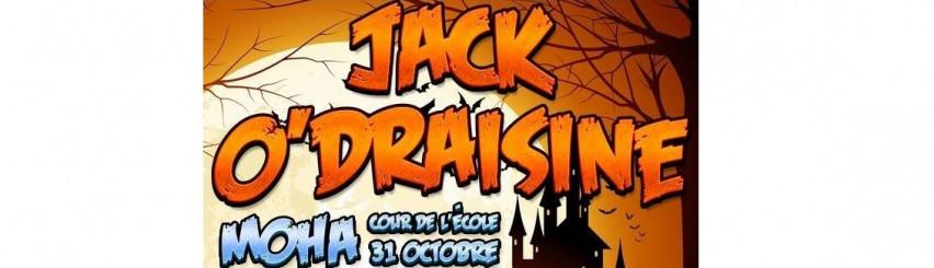 Illustration de l'évènement: Animation Halloween - Jack O'Draisine