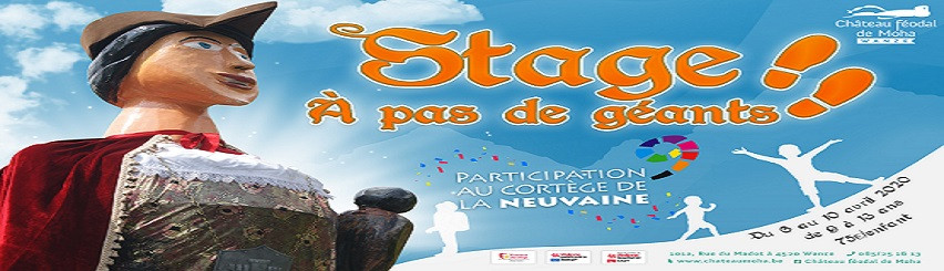 Illustration de l'évènement: ANNULE ! Stage enfants - ANNULE!  A pas de géants !