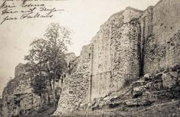 Murailles des ruines de l'ancien Château de Moha