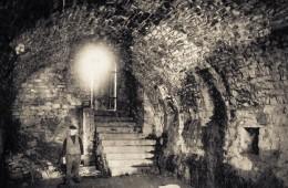 Ruines du château Sainte-Gertrude, intérieur