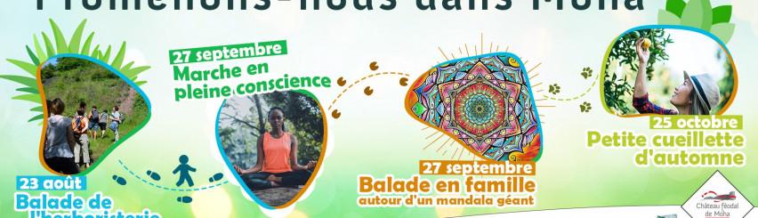 Illustration de l'évènement: Wallonie Nature - Promenons-nous dans Moha