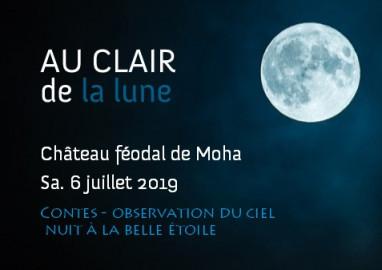 Sous les étoiles: Au clair de la lune