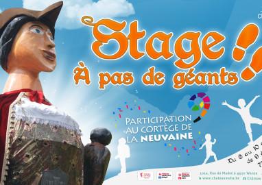 ANNULE ! Stage enfants: ANNULE!  A pas de géants !