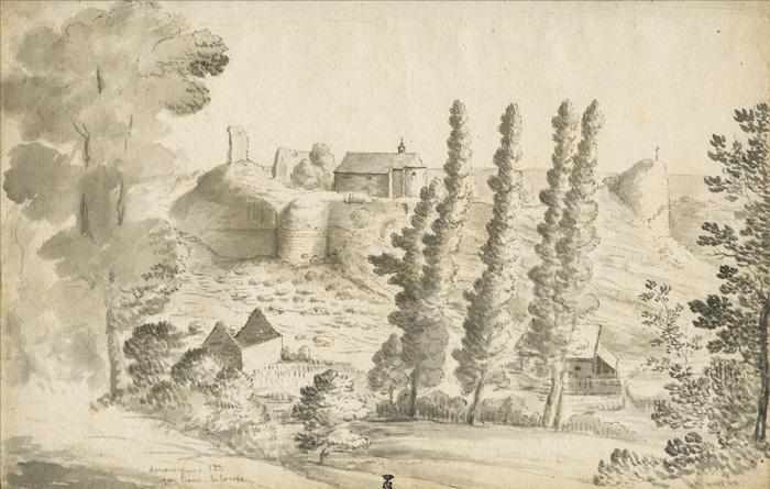 Gravure de la chapelle de Moha