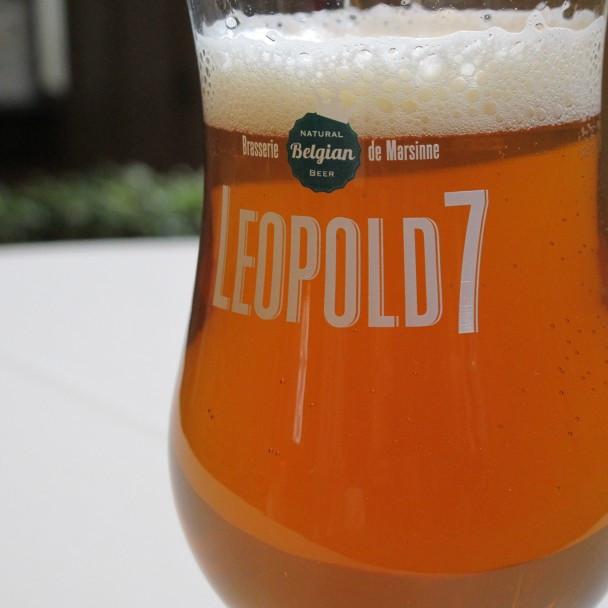 Verre de bière Léopold7
