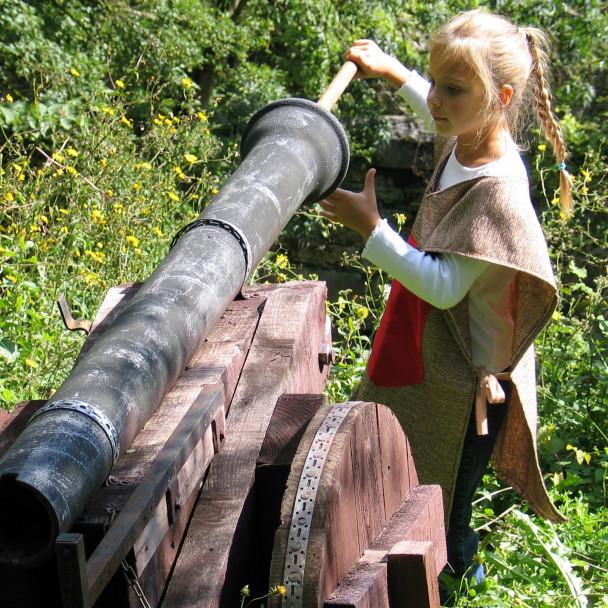 Essai tir au canon